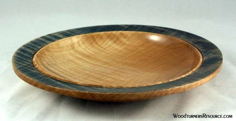 Curly Maple Plate