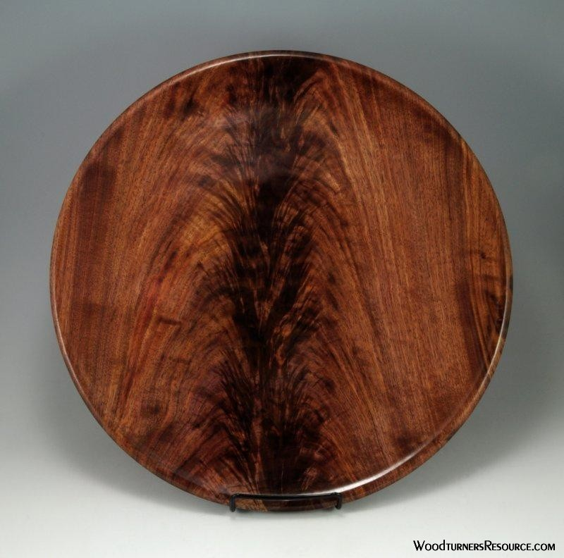 Walnut Crotch Platter