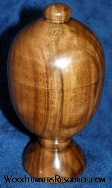English Walnut Box view #2