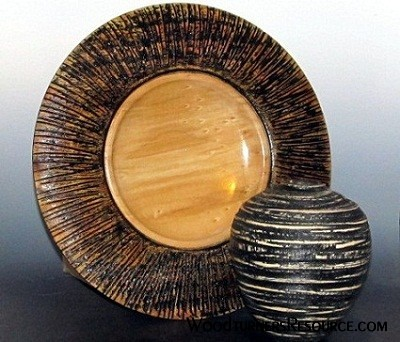 Platter and Hollow Form