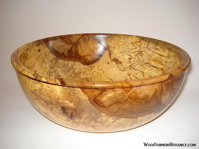 Deep Spalted Sweetgum Bowl