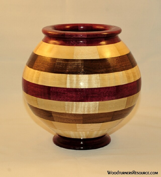 Round Segmented Bowl