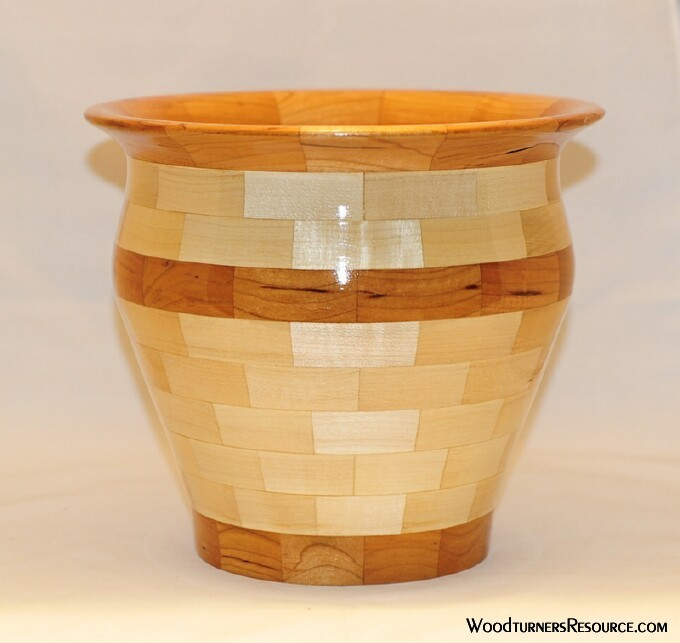Maple and Cherry Bowl