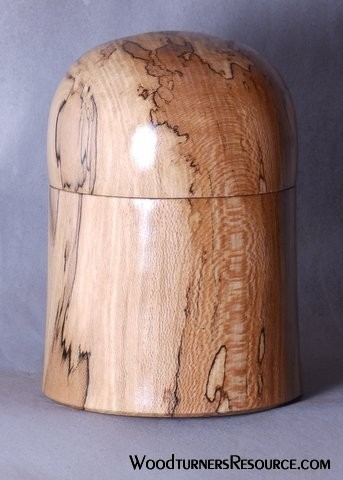 Spalted Sycamore Lidded Box