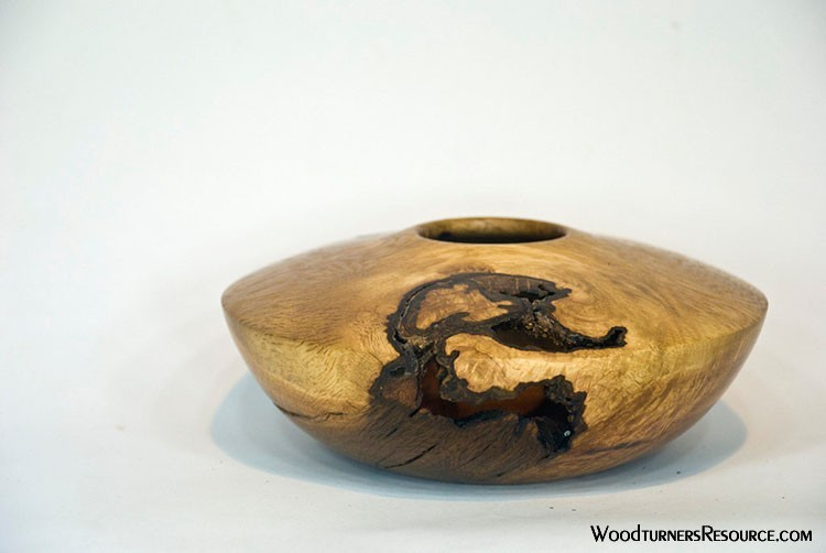 Oak Vessel with Void