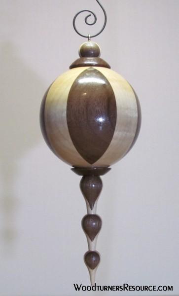 Maple & Walnut Ornament