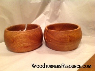 Yarn Bowls Jarrah Tung Oil finish