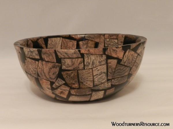 Oak and Resin Bowl