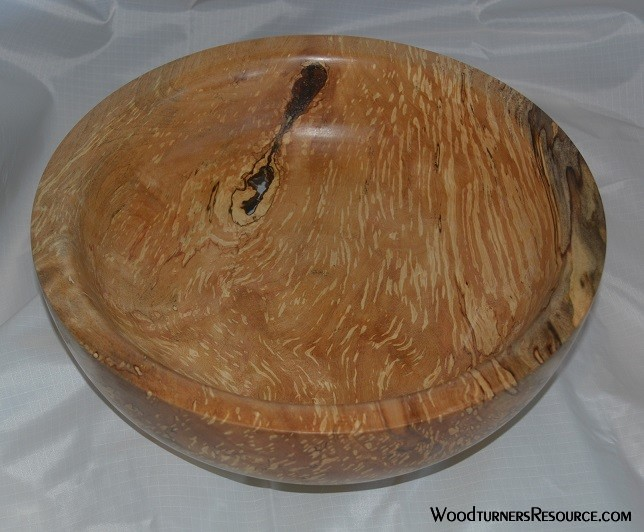 11' spalted maple bowl