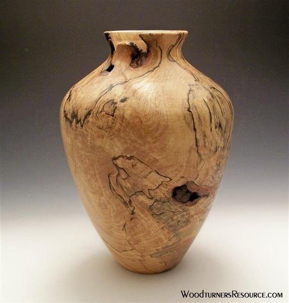 Spalted Maple Vase