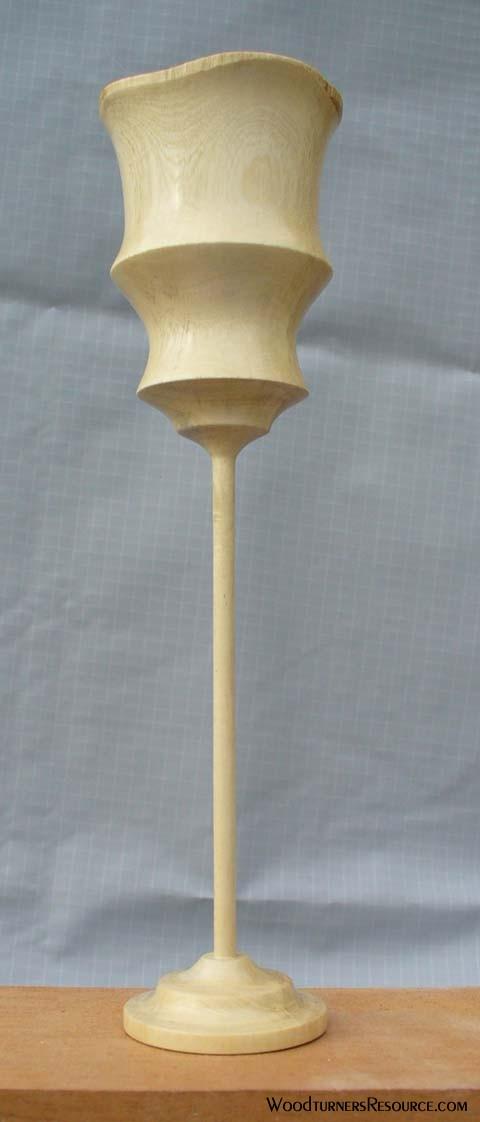 Ornamental Orange Goblet