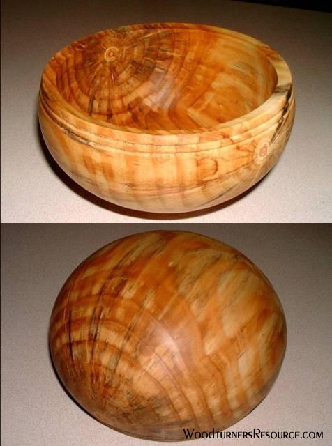Ponderosa Pine bowl