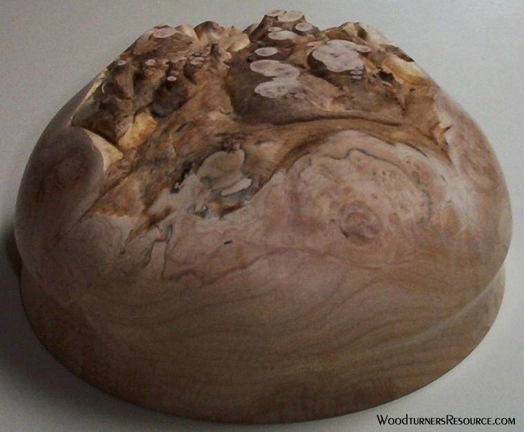 maple cap, natural bottom