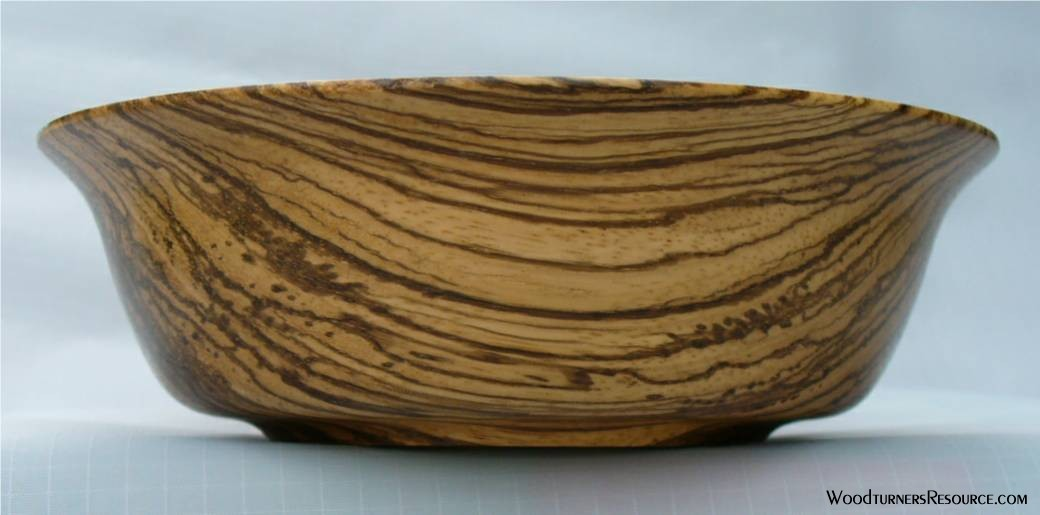 Zebra Wood Bowl 2