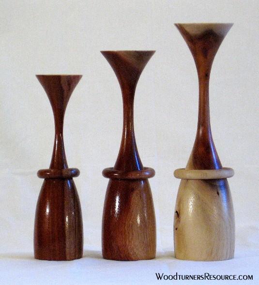 Acacia Candlesticks