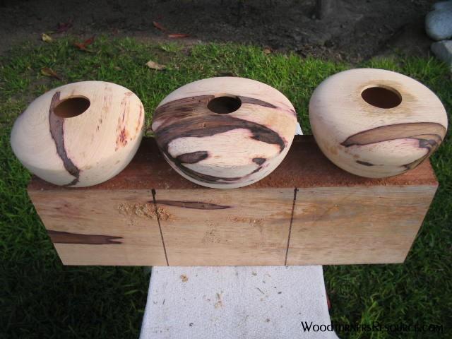 """peruvian maple vessels 7x4"""""""