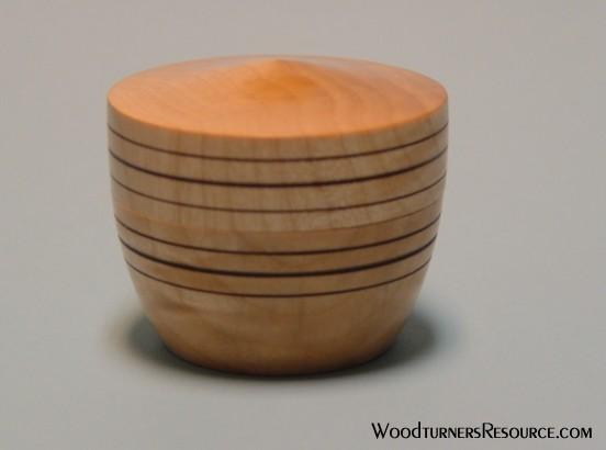 Maple Lidded Box