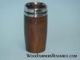 Black Walnut Travel Mug