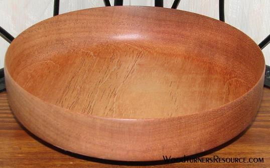A gouge bowl... finally