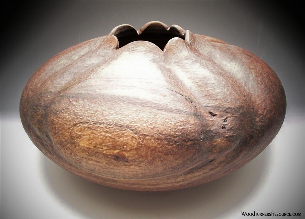 Walnut Vessel