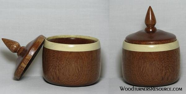 Sapele and Holly Box