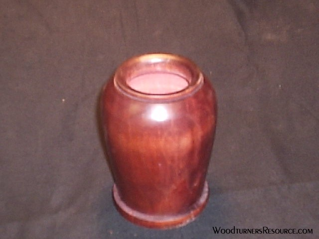dyed vase
