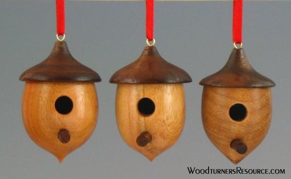 Birdhouse Ornaments