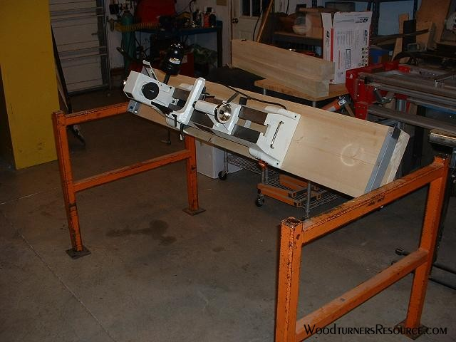 Special Lathe Stand