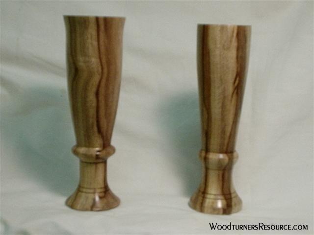 myrtlewood vases