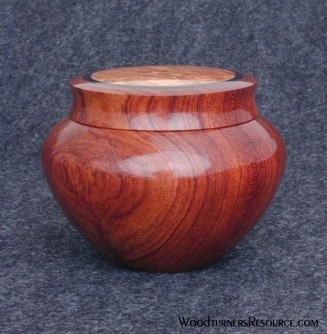 Bubinga Box with inlay