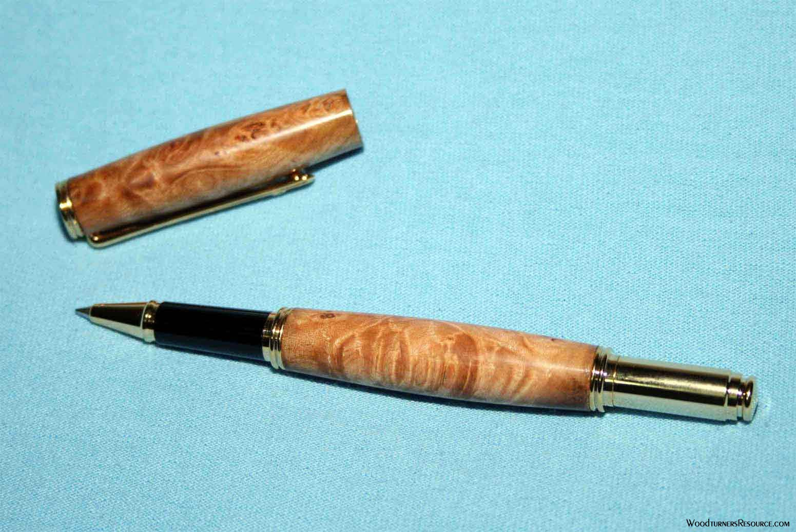 Maple Burl Pen for MikeInMo