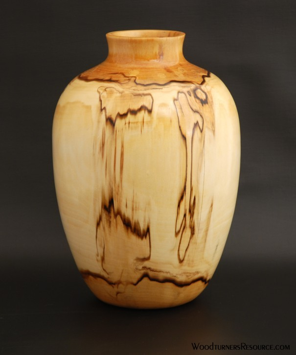 Spalted Poplar Vase 5322