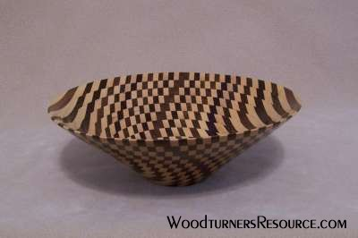 Bowl from a board method