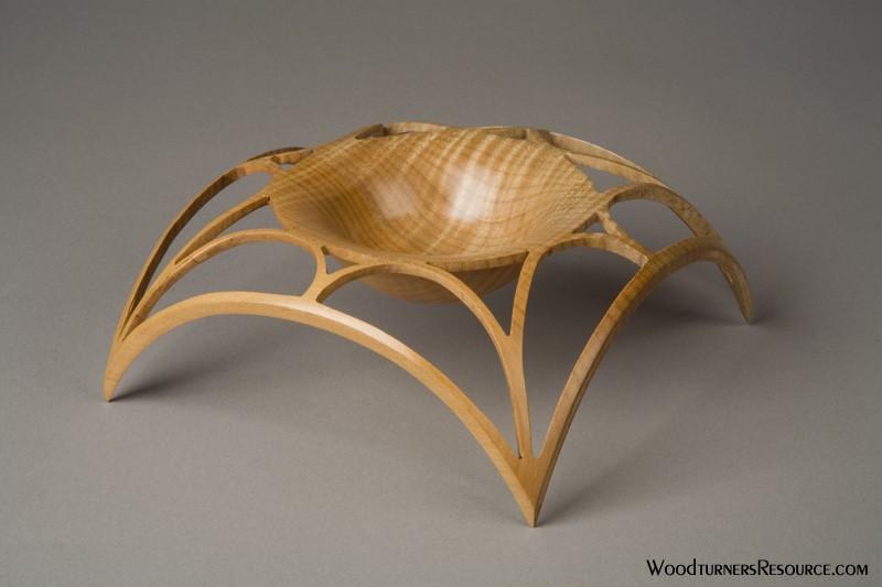 Winged Lattice Bowl