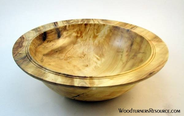 Cottonwood rimmed bowl