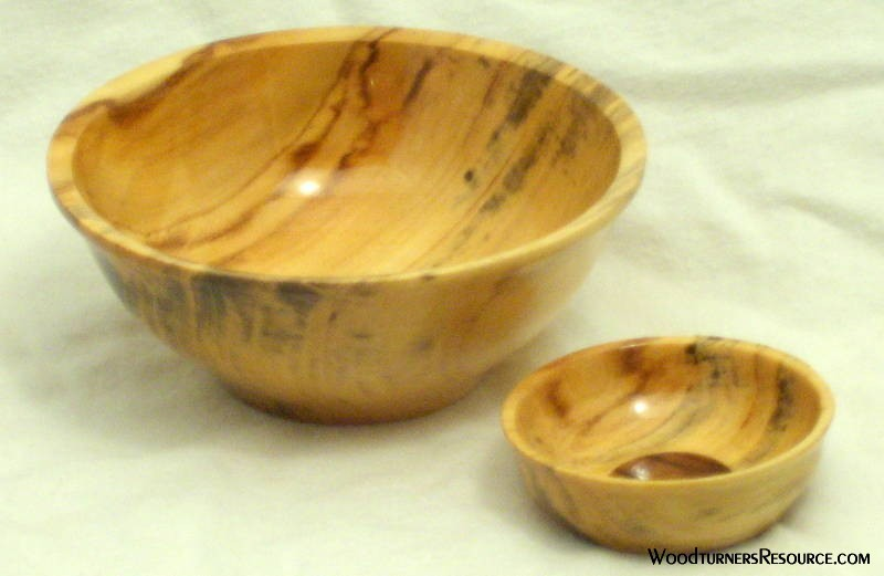 Two Bowls from One Blank
