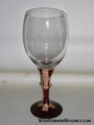 segmented wine glass