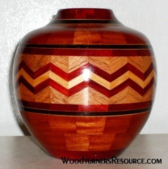 Zig-Zag Segmented Bowl
