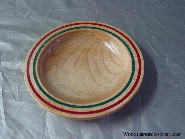 Enhanced Rim Maple Bowl