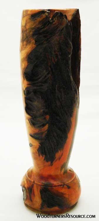 Pine root vase.