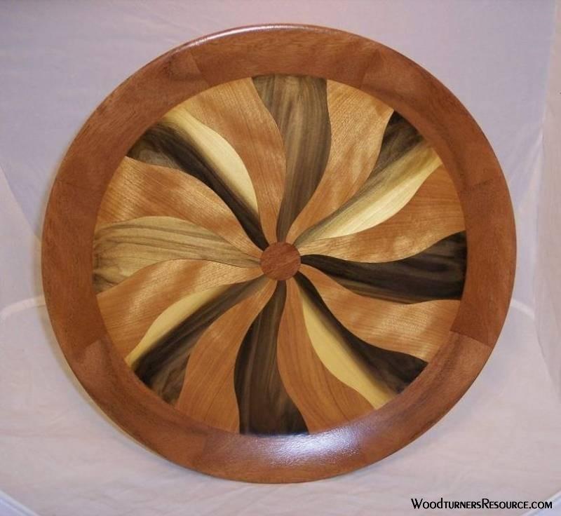 Pinwheel Platter