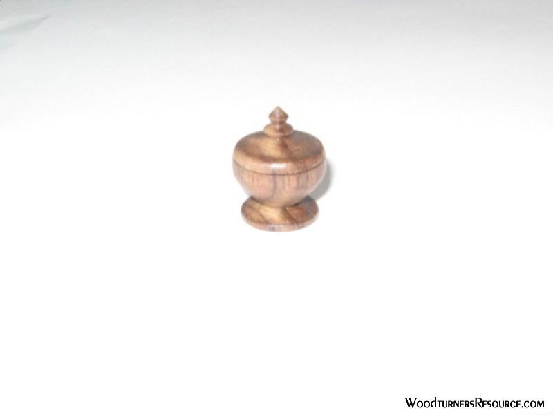 Small Walnut Box