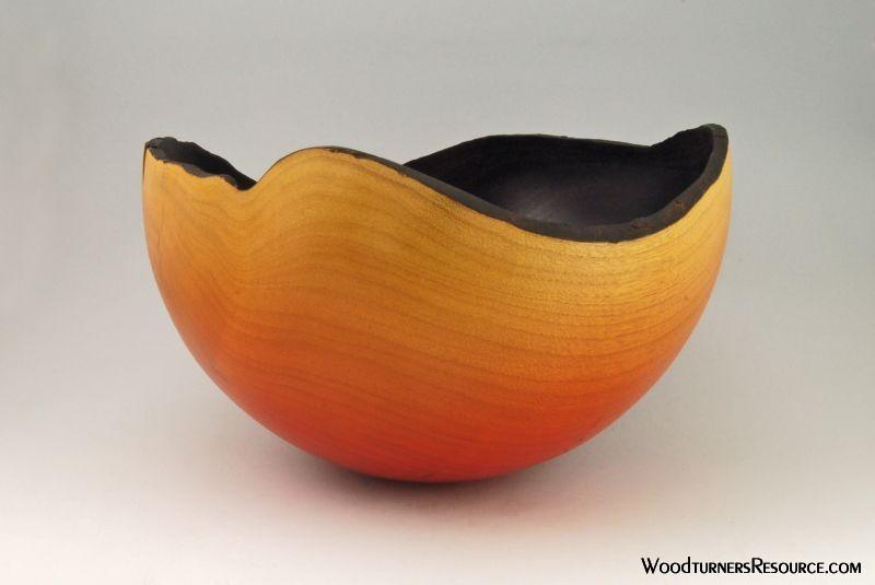Dyed Ash Round Bottom NE Bowl