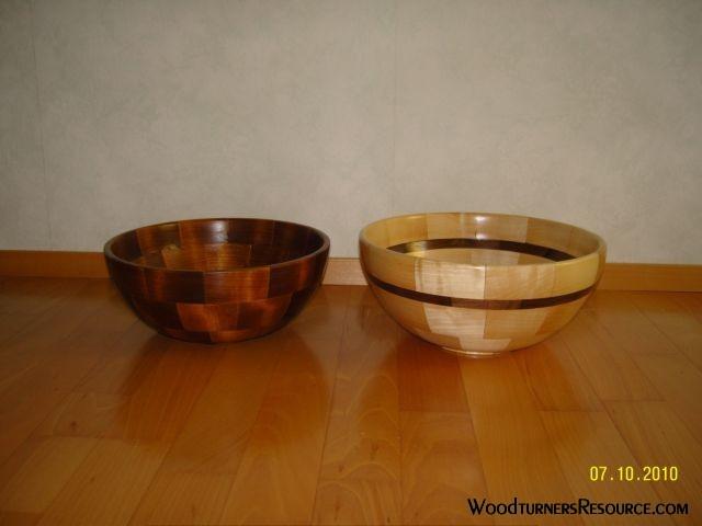 Segment bowls