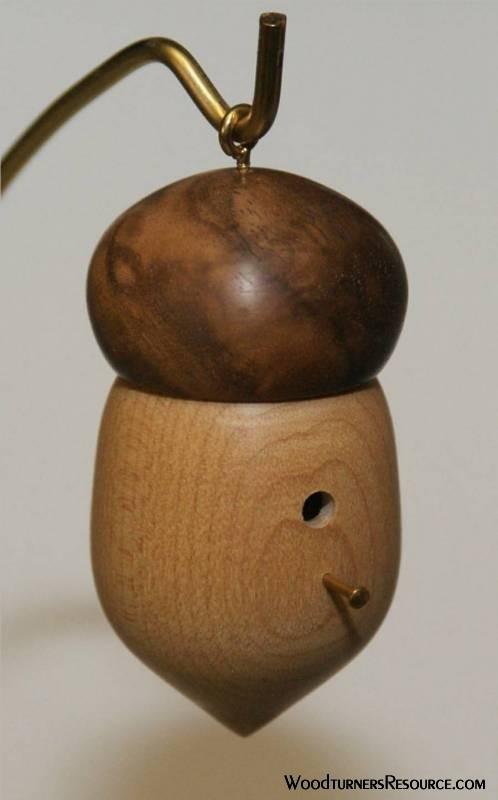 Acorn Ornamenet