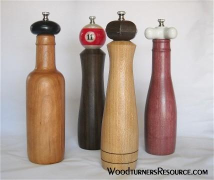 4 Peppermills