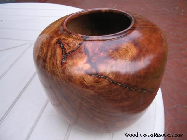 """Copaiba hearth vase 7x7"""""""