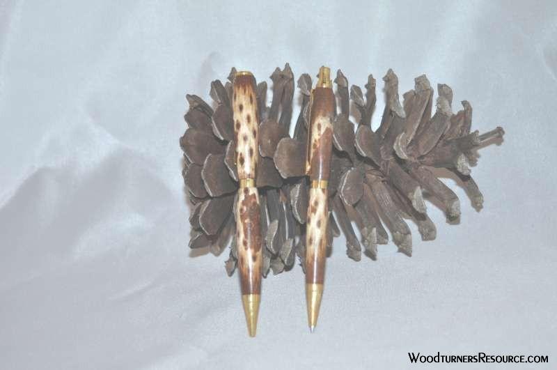 Pine Cone Pen & Pencil