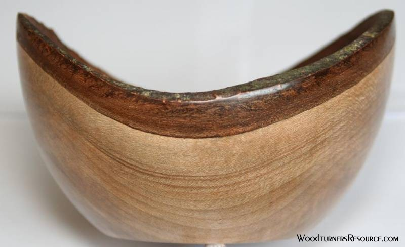 Oval Natural Edge Bowl #1
